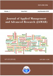 Journal of Applied Management and Advanced Research (JAMAR)